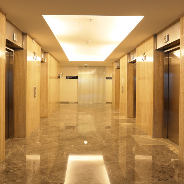88 Office Service Office Jakarta Equipped with Destination Control System DCS Elevator
