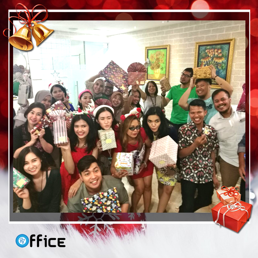 Christmas and New Year Celebration in 88 Office