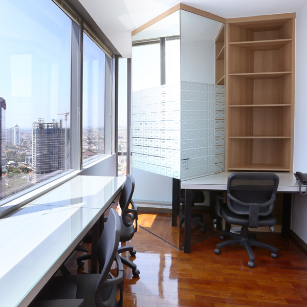 88Office Service Office Jakarta with High Quality Furniture
